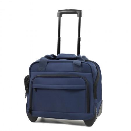 "Members Essentials On-Board 15.4"" Wheeled Laptop Bag"