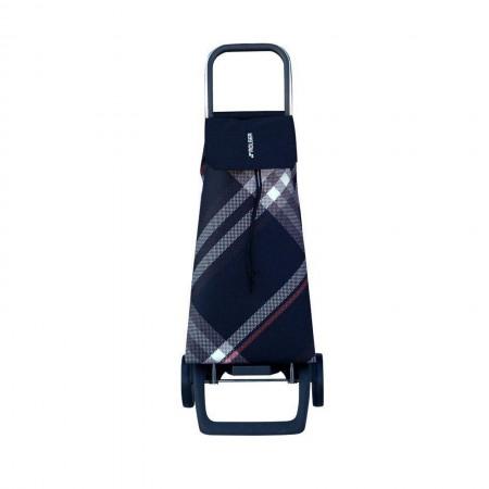 Rolser Jet Bora Black 2 Wheel Shopping Trolley