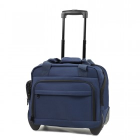 "Members Essentials On-Board Laptop Case on Wheels 15.4"" - 37cm"