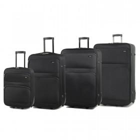 Members Topaz 2 Wheel 4 Piece Expandable Luggage Set - 55cm, 65cm, 75cm & 85cm