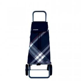 Rolser Pack Bora Black 2 Wheel Folding Shopping Trolley - 106cm