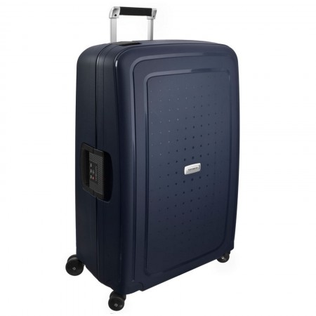 Samsonite S'Cure DLX 75cm 4 Wheel Spinner Large Suitcase