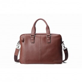 Woodland Leather Hautton Satchel Briefcase