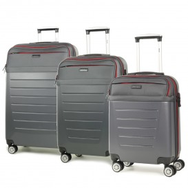 Rock Hybrid 3 Piece Luggage Set