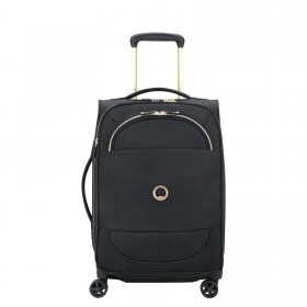 Delsey Montrouge 4 Wheel Spinner Expandable Cabin Suitcase - 55cm
